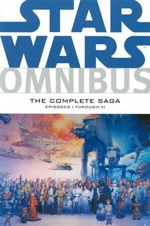 STAR WARS OMNIBUS EPISODES I-VI COMP SAGA TP (C: 1-1-2)