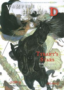 VAMPIRE HUNTER D NOVEL VOL 17 TYRANTS STARS 3 & 4