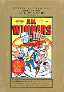 MMW GOLDEN AGE ALL WINNERS HC VOL 04
