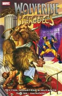 WOLVERINE HERCULES MYTHS MONSTERS AND MUTANTS TP
