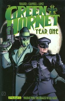 GREEN HORNET YEAR ONE TP VOL 02 BIGGEST OF ALL GAME