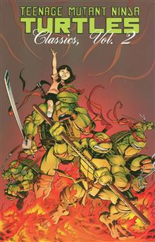TEENAGE MUTANT NINJA TURTLES CLASSICS TP VOL 02