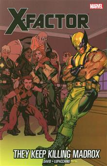 X-FACTOR TP VOL 15 THEY KEEP KILLING MADROX