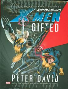 ASTONISHING X-MEN GIFTED PROSE NOVEL HC