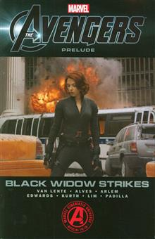 MARVELS AVENGERS TP BLACK WIDOW STRIKES