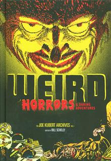 WEIRD HORRORS & DARING ADV JOE KUBERT ARCHIVES HC