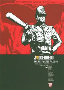 JUDGE DREDD RESTRICTED FILES TP VOL 04