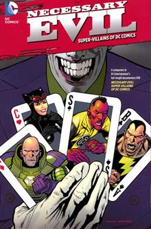 NECESSARY EVIL THE VILLAINS OF THE DC UNIVERSE TP
