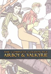 COMPLETE GOLDEN AGE AIRBOY & VALKYRIE HC