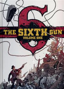 SIXTH GUN DLX HC VOL 01