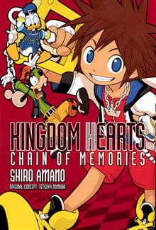 KINGDOM HEARTS CHAIN OF MEMORIES TP