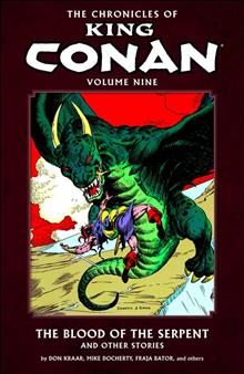 CHRONICLES OF KING CONAN TP VOL 09 BLOOD OF SERPENT