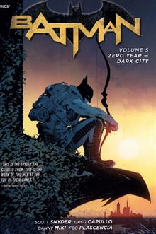 BATMAN HC VOL 05 ZERO YEAR DARK CITY (N52)