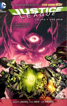 JUSTICE LEAGUE TP VOL 04 THE GRID (N52)