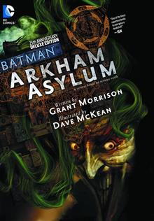 BATMAN ARKHAM ASYLUM 25TH ANNIV DLX ED HC (MR)