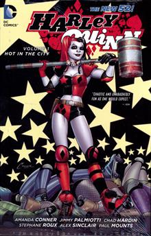 HARLEY QUINN HC VOL 01 HOT IN THE CITY