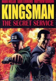 SECRET SERVICE PREM HC KINGSMAN