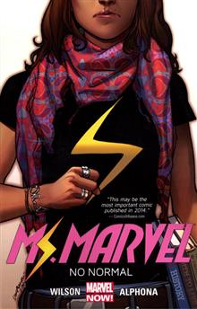 MS MARVEL TP VOL 01 NO NORMAL