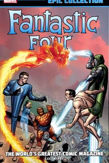 FANTASTIC FOUR EPIC COLL WORLDS GREATEST COMIC MAG