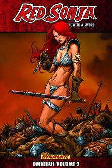 RED SONJA SHE DEVIL SWORD OMNIBUS TP VOL 02