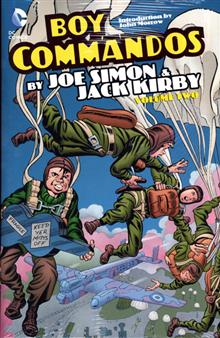 BOY COMMANDOS BY SIMON AND KIRBY HC VOL 02