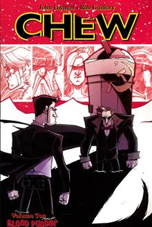 CHEW TP VOL 10 BLOOD PUDDIN (MR)