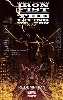IRON FIST LIVING WEAPON TP VOL 02 REDEMPTION