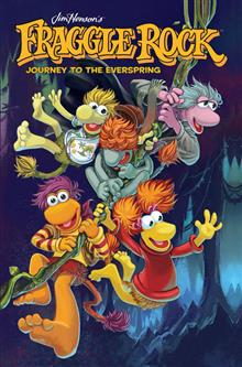 JIM HENSONS FRAGGLE ROCK JOURNEY TO THE EVERSPRING HC