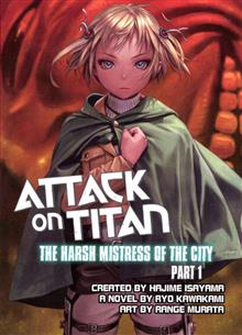 ATTACK ON TITAN HARSH MISTRESS OF CITY PART 1 NOVEL