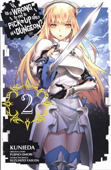 IS IT WRONG TRY PICK UP GIRLS IN DUNGEON GN VOL 02