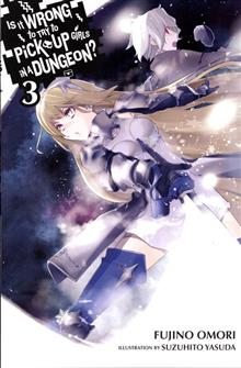 IS IT WRONG TRY PICK UP GIRLS IN DUNGEON NOVEL VOL 03