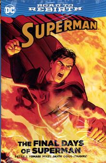 SUPERMAN THE FINAL DAYS OF SUPERMAN HC
