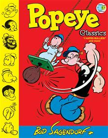 POPEYE CLASSICS HC VOL 08 I HATE BULLIES