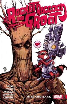 ROCKET RACCOON AND GROOT TP VOL 00 BITE AND BARK