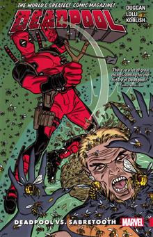 DEADPOOL WORLDS GREATEST TP VOL 03 DEADPOOL VS SABRETOOTH