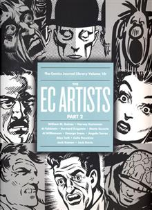 COMICS JOURNAL LIBRARY TP VOL 10 EC ARTISTS PT 2
