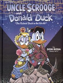 DISNEY ROSA DUCK LIBRARY HC VOL 05 RICHEST DUCK