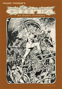 FRANK THORNE GHITA EROTIC TREASURY ARCHIVAL ED VOL 01