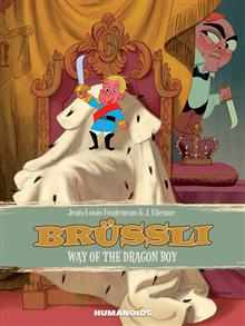 BRUSSLI WAY OF THE DRAGON BOY HC