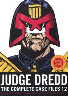 US JUDGE DREDD COMP CASE FILES TP VOL 12