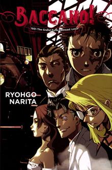 BACCANO LIGHT NOVEL HC VOL 02 GRAND PUNK RAILROAD