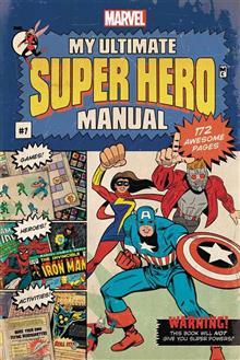 MY ULTIMATE SUPER HERO MANUAL HC