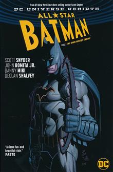 ALL STAR BATMAN TP VOL 01 MY OWN WORST ENEMY (REBIRTH)