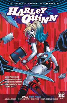 HARLEY QUINN TP VOL 03 RED MEAT (REBIRTH)