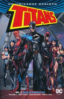 TITANS TP VOL 02 MADE IN MANHATTAN (REBIRTH)