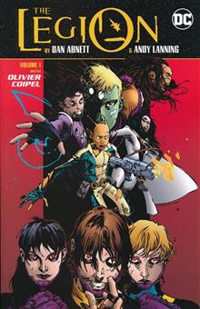 LEGION BY DAN ABNETT & ANDY LANNING TP VOL 01