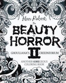 BEAUTY OF HORROR GOREGEOUS COLORING BOOK TP VOL 02
