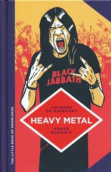 LITTLE BOOK OF KNOWLEDGE HC HEAVY METAL