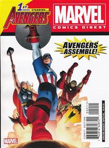 MARVEL COMICS DIGEST #2 THE AVENGERS