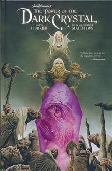 JIM HENSON POWER OF DARK CRYSTAL HC VOL 01 (OF 4)